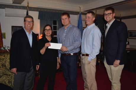 Southampton Association Donates $25,000. to the Southampton Village Volunteer Ambulance Corps